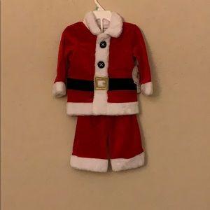 Santa kids outfit